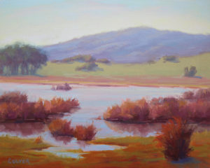 "Online Store Featured Item:     ""Sonoma Wetlands"" by Laura Culver"